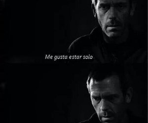 alone, house, and dr house image