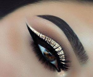 beautiful, makeup, and eye image