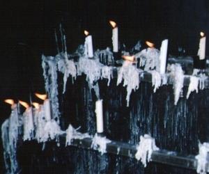 candle, grunge, and dark image