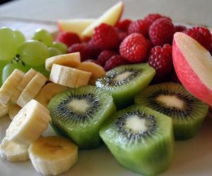 fruit, food, and kiwi image