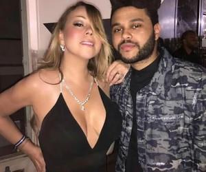 Mariah Carey, xo, and the weeknd image