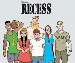 childhood, recess, and disney image