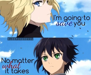 anime and owari no seraph image