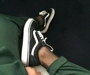 green, stylé, and shoes image