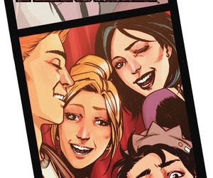 Archie, veronica, and jughead image