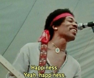 happiness, Jimi Hendrix, and music image