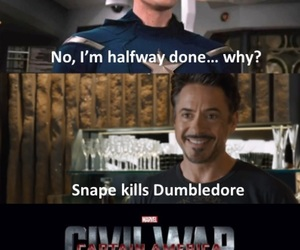 funny, harry potter, and thor image