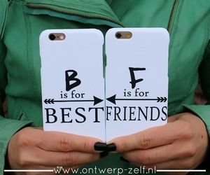 best friends, bff, and phone cases image