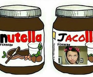 jacob, lmao, and nutella image