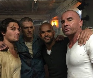 prison break, t-bag, and wentworth miller image