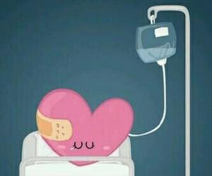 heart, broken, and sad image