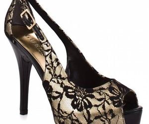fashion, guess, and heels image