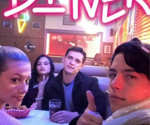 cole sprouse, riverdale, and betty cooper image