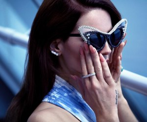 lana del rey, lana, and glasses image
