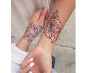 best friends and Tattoos image