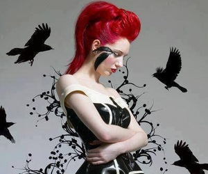 alternative, goth, and alternative style image