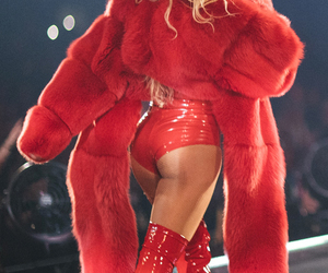 beyoncé, red, and queen b image