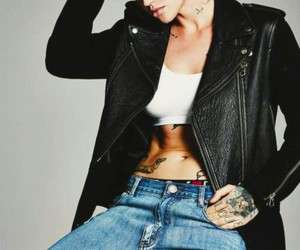 ruby rose, oitnb, and lesbian image