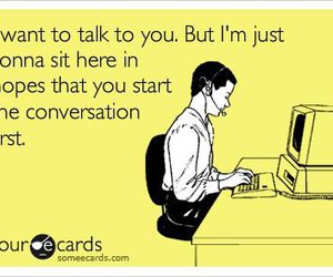 quote, conversation, and lol image