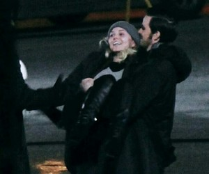 Jennifer Morrison, colin o'donoghue, and once upon a time image