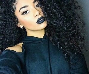 African and curly image