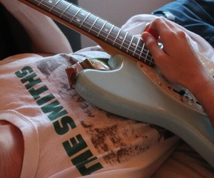 grunge, guitar, and the smiths image