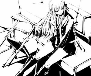 danganronpa, kyouko kirigiri, and trigger happy havoc image