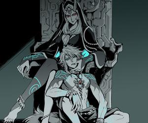 link, the legend of zelda, and twilight princess image
