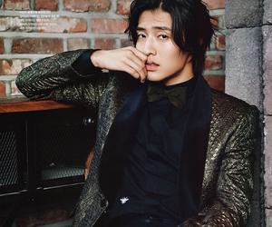 korean model, kang ha neul, and korean actor image