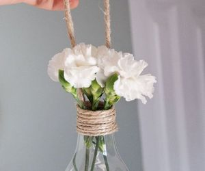 flowers, diy, and decoration image