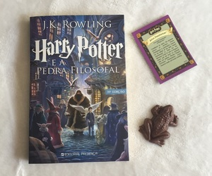 book, hogwarts, and chocolate image