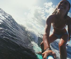 beach, tropical, and brasil image