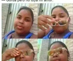 gracioso, memes en español, and gordas image