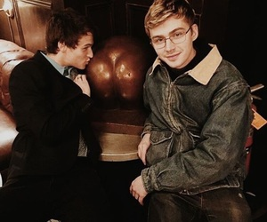 thirteen reasons why, miles heizer, and justin foley image