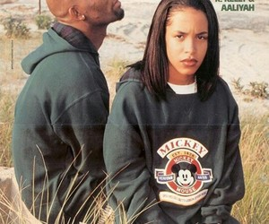 aaliyah, 90s, and r kelly image