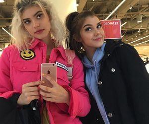 sahar luna, kelsey calemine, and makeup image