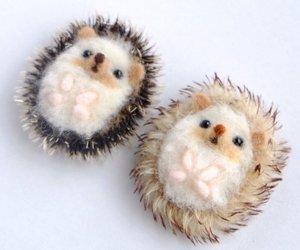 animal, plushie, and hedgehog image