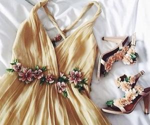 beautiful, bridesmaid, and yellow image