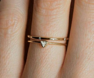 gold, ring, and jewelry image