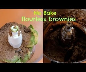 brownies, flourless, and recipe image
