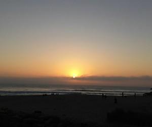 beach, ocean, and portugal image
