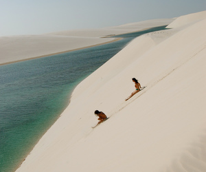awesome, couple, and desert image