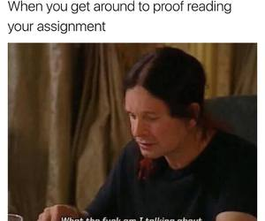 meme, funny, and study image