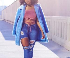 beauty, black girl, and melanin image