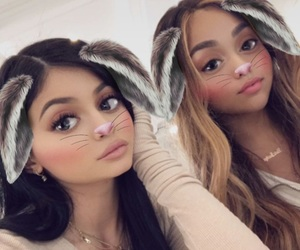 new, jordyn woods, and social image