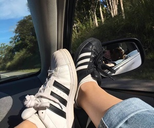 car and shoes image