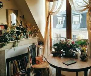 home, indie, and plants image