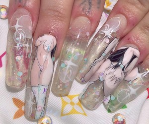 nails and anime image