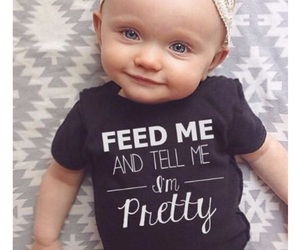 baby, girl, and pretty image
