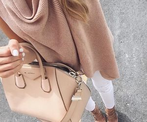 bag, style, and tan image